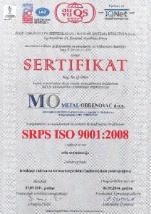 SRPS-ISO-9001-2008