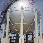 Sferni rezervoari, Rafinerija nafte Pančevo